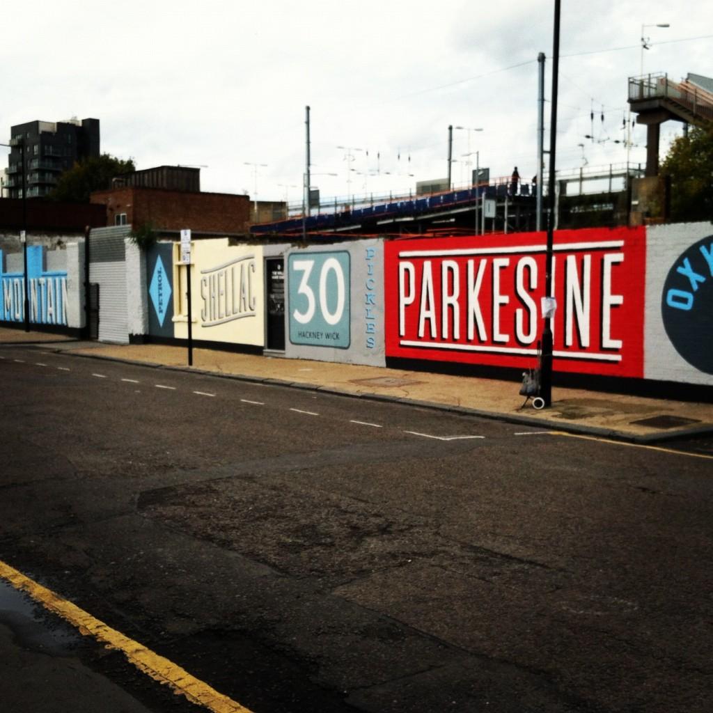 Hackney Wick Street Art - Digital Marketing London