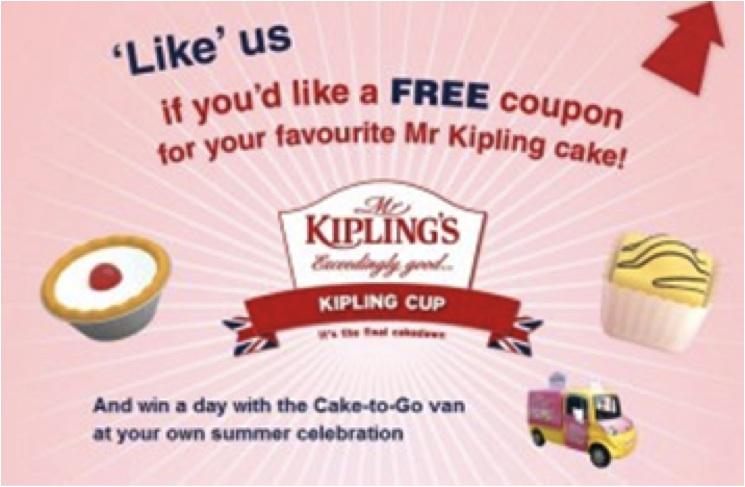 Facebook Promotion Mr Kiplings