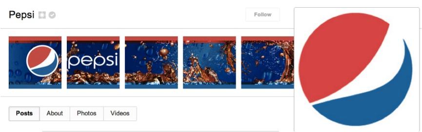 Pepsi Google Plus Cover Photo